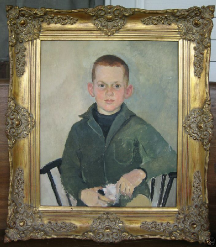 Picture of Norman Rockwell Type portrait..unsigned!